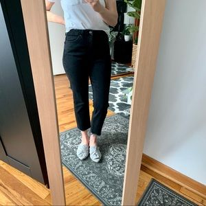 Topshop high waisted ankle jeans 28
